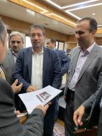 جلسه دیدار با وزیر صنعت معدن تجارت در مورد طرح تولید خودرو-2