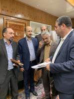 جلسه با وزیر صنعت معدن تجارت پیرامون پروژه تولید خودرو -3