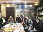 جلسه با هیئت مدیره شرکت فروسیلیسیوم خمین - 2