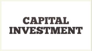 سرمایه گذاری ثابت (Capital Investment)