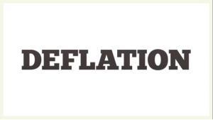 کاهش عمومی قیمت ها (Deflation)