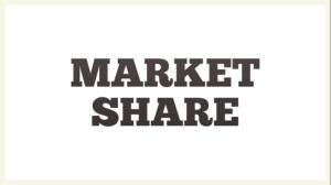 سهم بازار (market share)