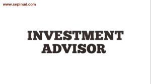 مشاور سرمایه گذاری -Investment advisor-