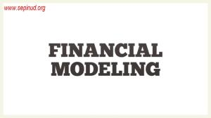 الگوی مالی -Financial Modeling-