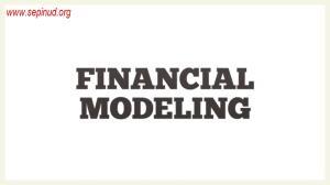 الگوی مالی -Financial Modeling-