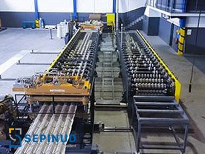 Pre-Feasibility Study for establishment of  steel sheets and ceilings walls sandwich production plant