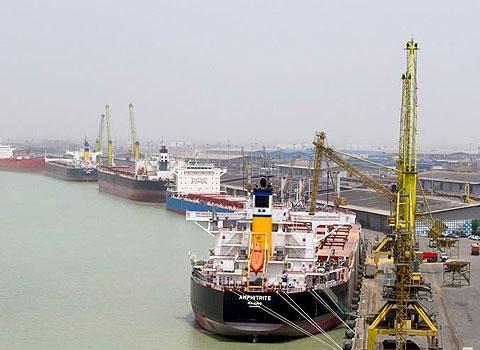 Imam Khomeini port, 2013