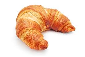Croissants and chewing gum